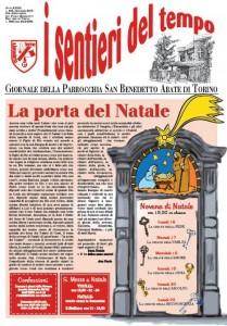 sentieri tempo giornale copertina natale 2013