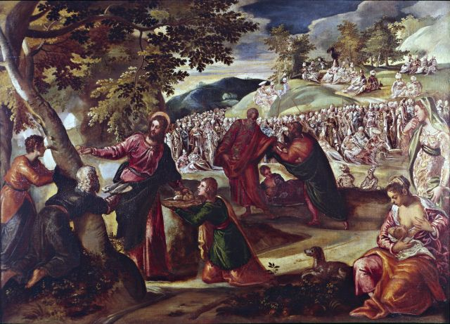 """La comunità prega """"gesù sfama giov aprile"""